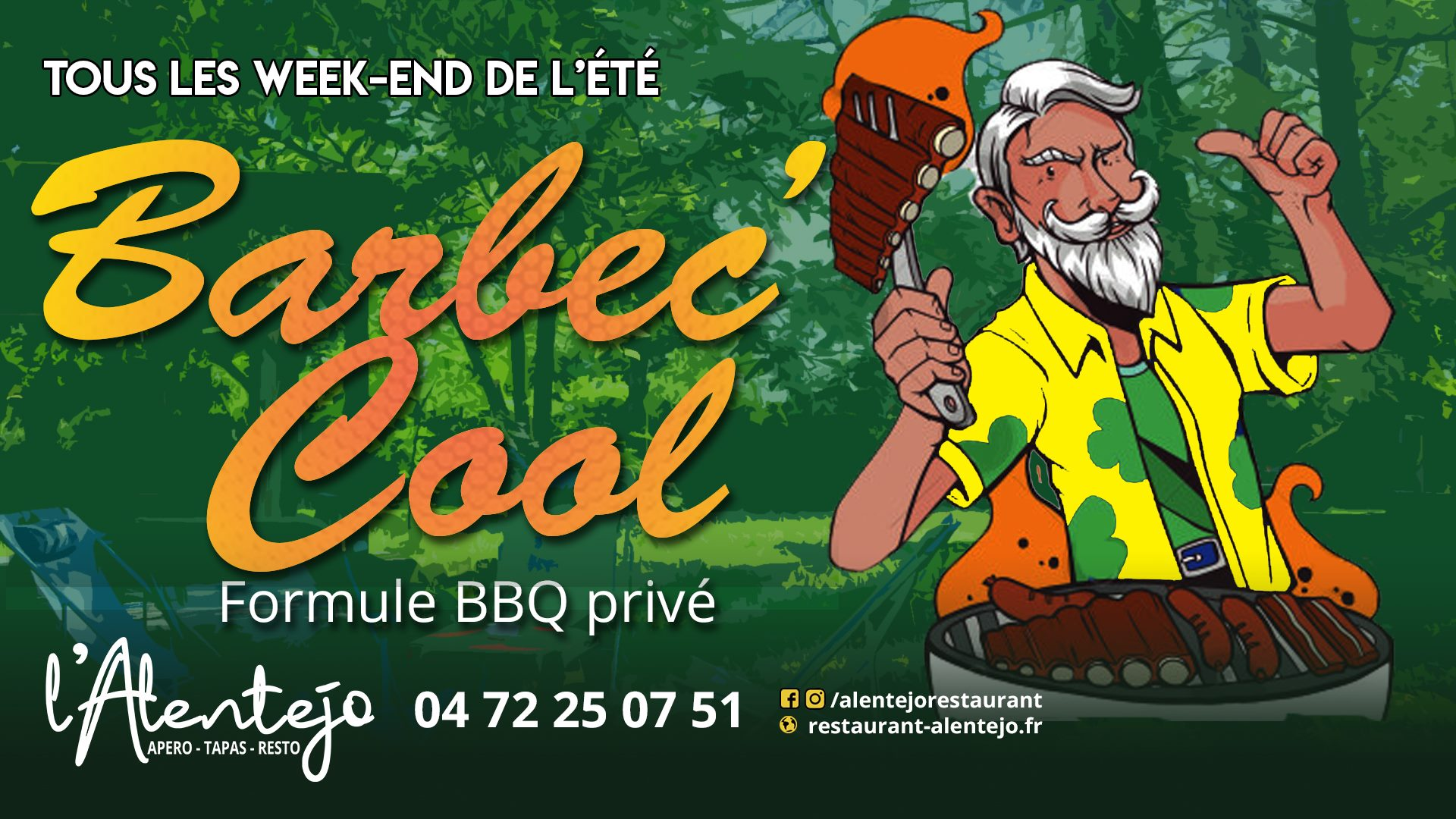 BARBEC'COOL - Formule privatisation de barbecue