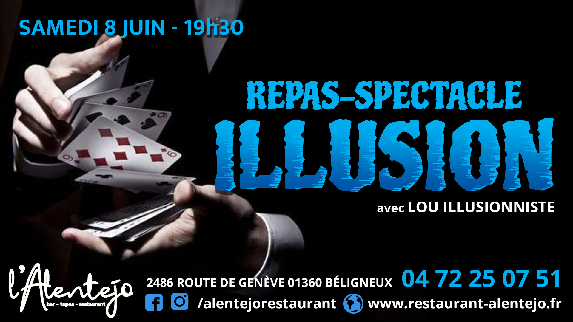 Repas-spectacle Illusion